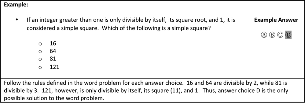 Word Problem Questions on the Upper Level ISEE - Piqosity ...