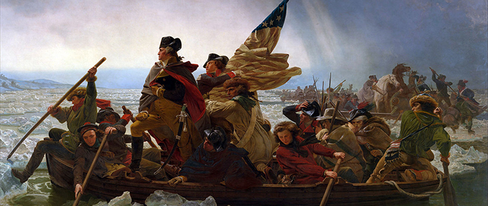 """Washington Crossing the Delaware"" by Emanuel Leutze, 1851"