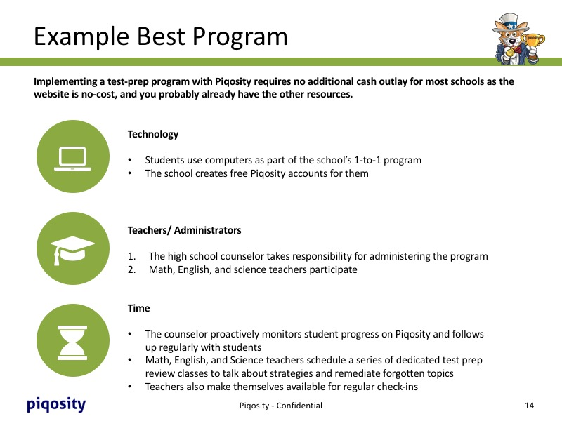 Example of a Best SAT or ACT Prep Course