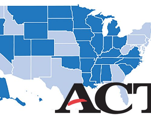 ACT Test Scores by State for Class of 2016
