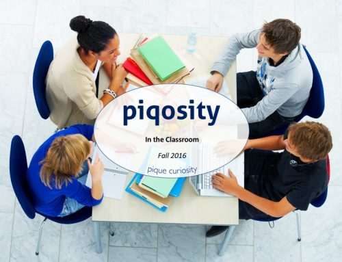 How to Use Piqosity In Your Classroom
