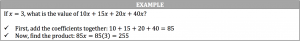 addition example