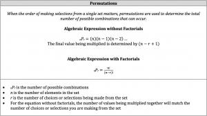 algebraic permutations