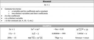 binomial definition