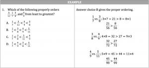 greatest fraction