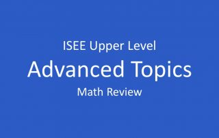 isee-advanced-math