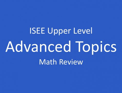 ISEE Math Review – Matrix Multiplication, Standard Deviation, and Trigonometry