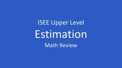 isee-estimation