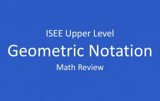 isee-geometric-notation