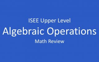 isee-operations-on-algebraic-expressions
