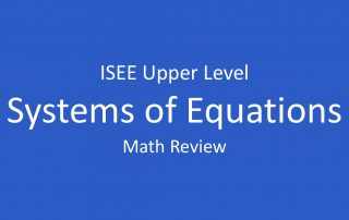 isee-systems-of-equations