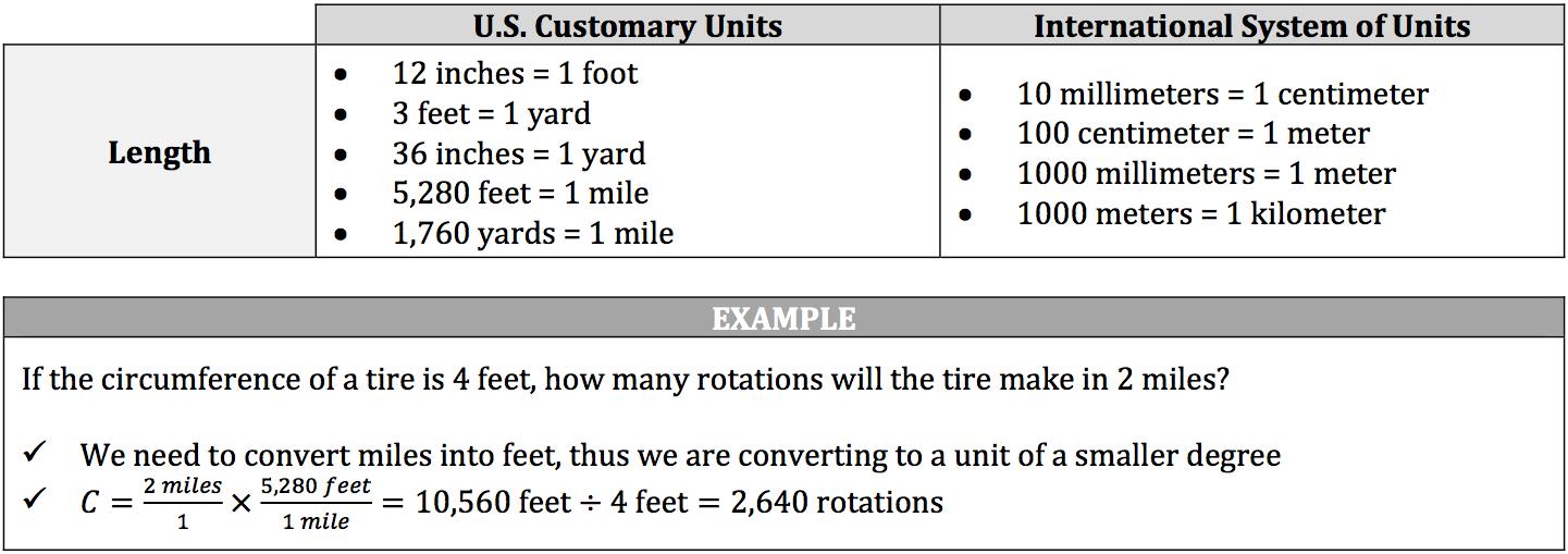 length-measurements