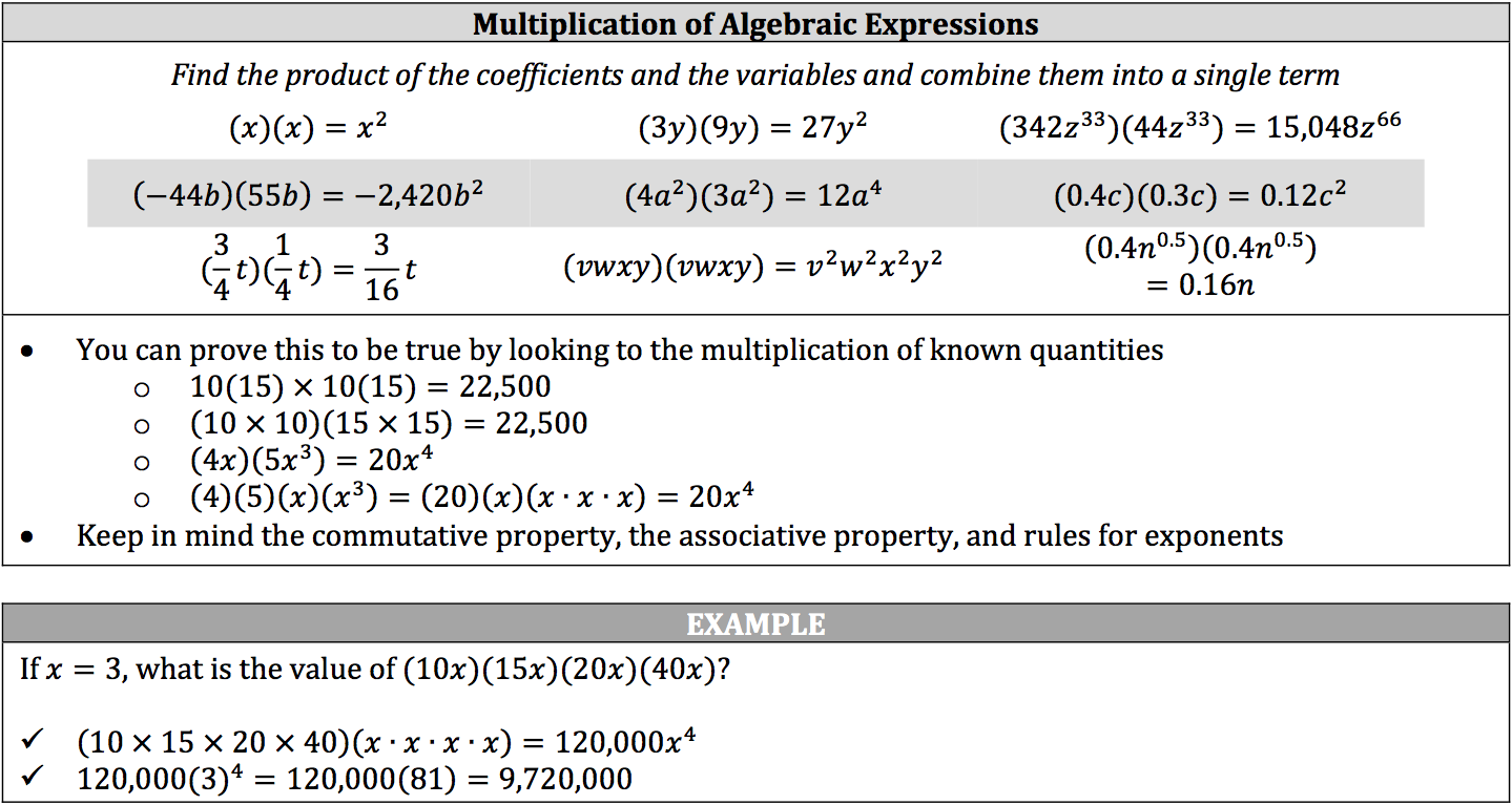 multiplication-of-algebraic-expressions