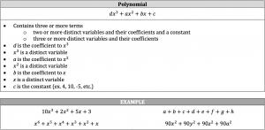 polynomial definition