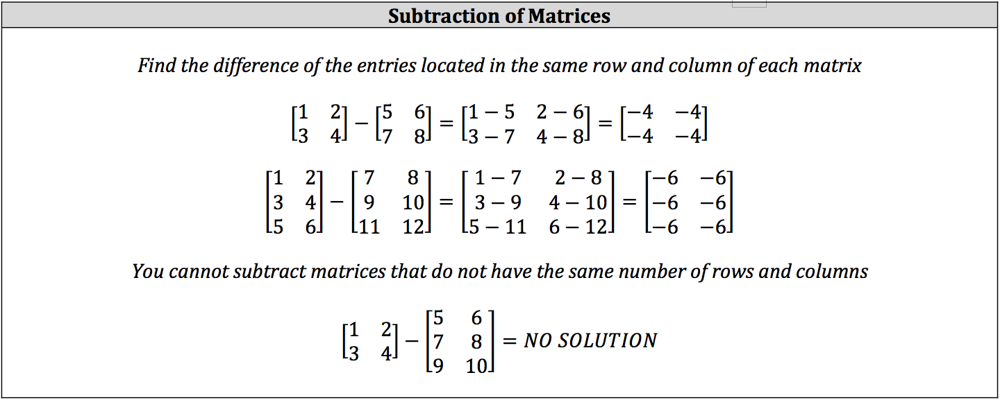 subraction-of-matrices