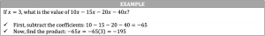 subtraction example