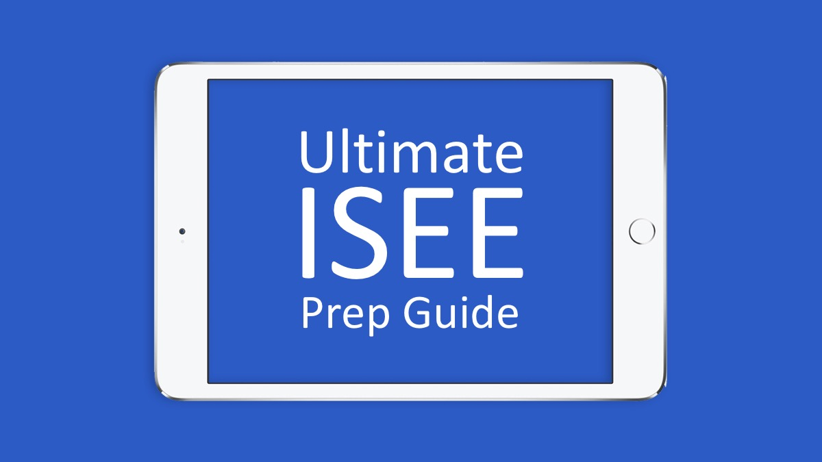 Ultimate ISEE Prep Guide - Piqosity - Adaptive Learning & Student  Management App