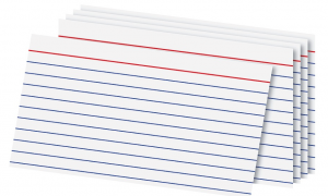 office depot index cards