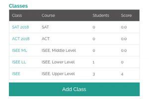 organize classes