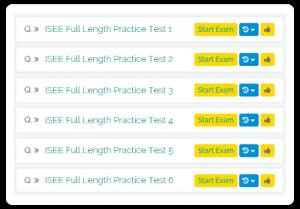 ISEE UL full length tests