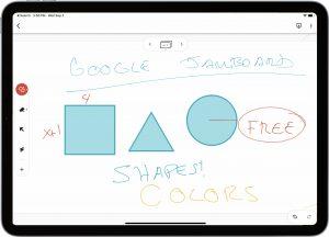 Google Jamboard on Apple iPad