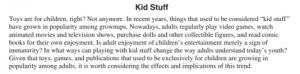 ACT Essay Description