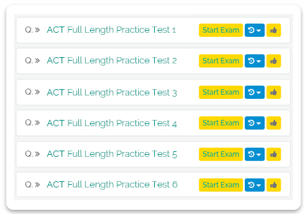 Full-Length ACT Practice Tests
