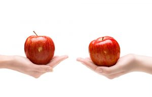 apples to apples comparison