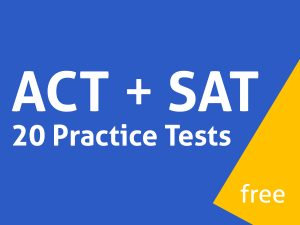 free act sat practice tests