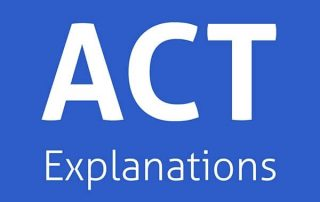 act-explanations
