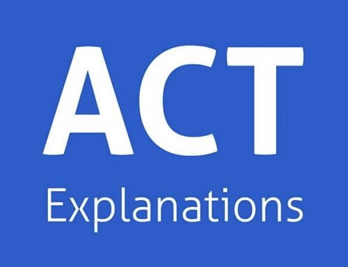 Answer Explanations to the Previously Released 2015-18 ACT English Test