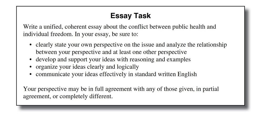 ACT Writing 2015-2018 Essay