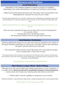 ACT grammar practice: relevance and wordiness