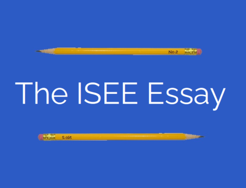 How to Prepare for the ISEE Essay