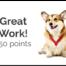 Gamified Practice Corgi Points